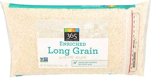 Rice: 365 Everyday Value Enriched Long Grain White Rice