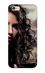 Case Provided For Iphone 6 Plus Protector Case Woman With Wine Phone Cover With Appearance by lolosakes