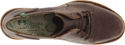 El Naturalista Womens Duna N527 Sandal Chocolate Desert Leather Kh25U