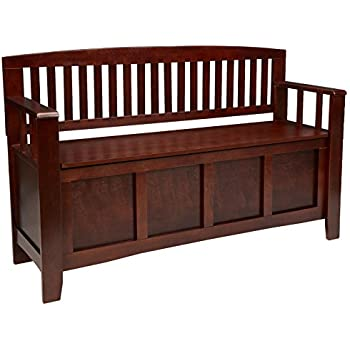 Amazon Com Simpli Home 3axcadaben Adams Solid Wood 48