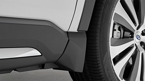 Subaru 2019 Ascent Splash Guard Mud Flap Set of 4 Matte Black NEW J101SXC000 OEM