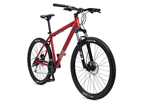 SE Bicycles 1.0 Big Mountain Bicycles with 27.5' Wheel, Satin Red, 15'/Small