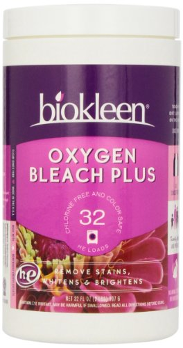 biokleen Oxygen Bleach Plus With Grapefruit Seed Extract Cleaning Power, 32 oz