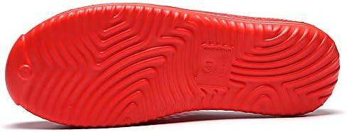 アウトドア水泳川上流スキニングビーチダイビングスピード干渉ウォーターサーフィンソックス砂防水陸両用フィットネスランニングシューズユニセックス赤 ポータブル (色 : Red, Size : US6)