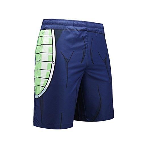 4ae4e5f629 CHENMA Men Dragon Ball 3D Print Fast-Dry Shorts Lounge Swim Trunk Beach  Shorts