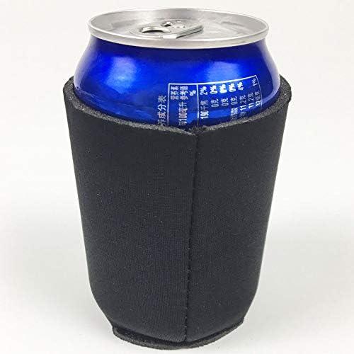 JVSISM 10 Piezas Enfriador de Lata de Cerveza de Neopreno Copa de Bebida Manga de Botella Cubierta de Envoltura Aislante Nuevo Blanco