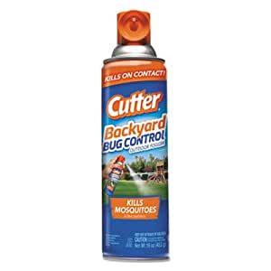 Cutter Backyard Bug Control Outdoor Fogger Spray, 16 oz Aerosol, 12/CT