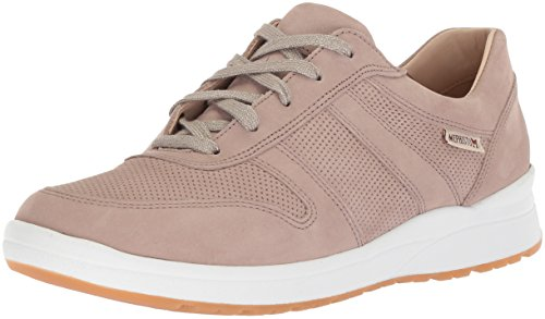 Mephisto Women's Rebeca PERF Sneaker, Light Taupe, 8 M US ()