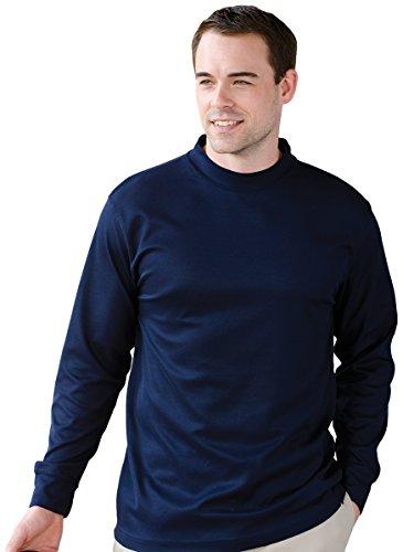 UPC 820599028083, Jonathan Corey Men'S Long Sleeve Performance Mock Turtleneck (Navy) (S)