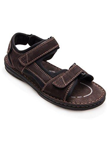 Zerimar Sandalias de Piel Para Hombres Sandalias Trekking Zapatillas de Senderismo Color Marron Talla 41