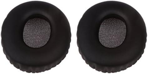 P Prettyia ソニーMDR-10RC 10RCヘッドフォンブラック用1ペア交換用イヤーカップイヤーパッドクッション