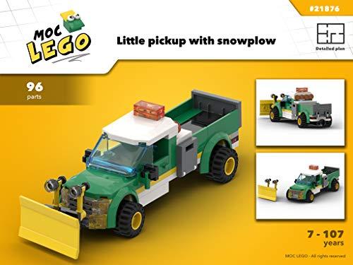 Little PickUp (Instruction Only): MOC LEGO por Bryan Paquette