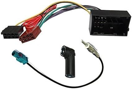 AERZETIX - Adaptador Cable - Enchufe - Antena para autoradio ...