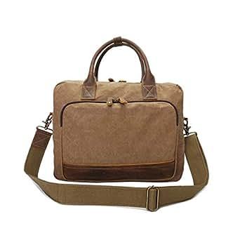 Mens Bag For Notebook/Computer/Tablet/MacBook/Acer/HP/Dell/Lenovo Laptop Briefcase 14 Inch Laptop Business Office Handbag for Men Women Multi-Functional Shoulder Messenger Bag High capacity