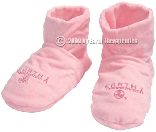 Anti-Stress Microwaveable Comfort Booties - Pink