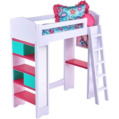- My Life As Light & Sound Loft Bed Play Set with Reversible Bedding, 6-Piece