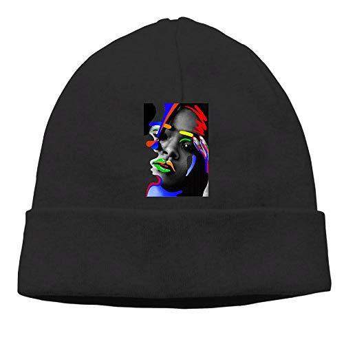 6c69e548 Chesae Siuye Unisex Watch Cap Rihanna-Anti-Colorful-Girl Slouchy Beanie Hat