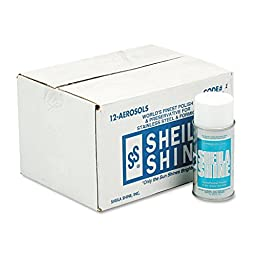 Sheila Shine 1 Stainless Steel Cleaner and Polish, 10 oz. Aerosol (Pack of 12)
