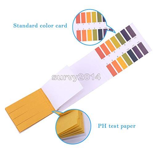 Pocket Digital PH Meter Water Tester Pen LCD Monitor Pool Aquarium Laboratory (PH Test Paper)