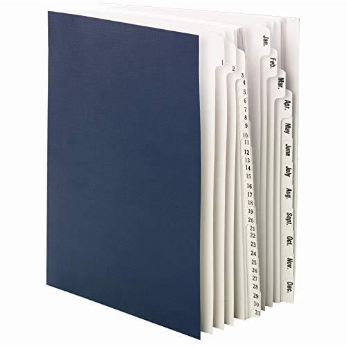 Smead 89235 Desk File/Sorter,1-31,Jan-Dec,43 Dividers,9-7/8-Inch - Folder Alpha