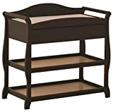 Baby Relax Changing Table Storkcraft Aspen Changing Table with Drawer, Black