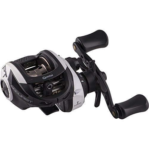 Quantum Fishing Quantum Accurist 101 Left-Hand Baitcast Reel 6.3: 1 Retrieve Ratio