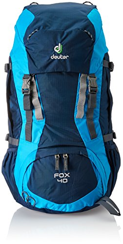 Deuter Fox 40 Kid's Hiking Backpack, Midnight/Turquoise by Deuter