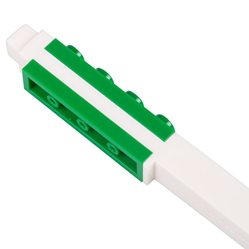 LEGO Stationery - Colored Gel Pens 12 Pack with Building Bricks - .7mm by LEGO (Image #3)