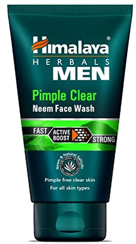 Himalaya Herbls Men Pimple Clear Neem Face Wash, 100ml (Best Face Wash For Pimples)