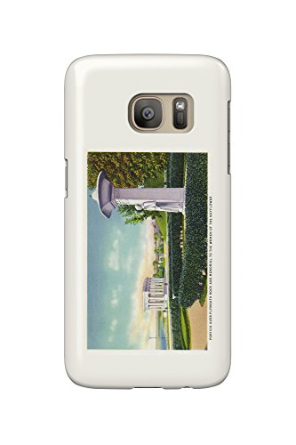 Plymouth, Massachusetts - Memorial to the Mayflower Women, Portico View (Galaxy S7 Cell Phone Case, Slim Barely - Plymouth Women