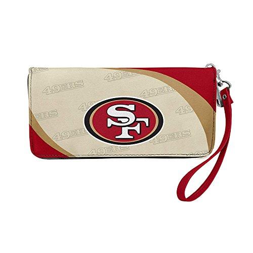 NFL San Francisco 49ers Curve Zip Organizer (San Francisco 49ers Womens Apparel)