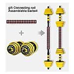Durevole-Set-di-Manubri-Manubri-Set-Grande-Dumb-Bells-Bilanciere-Gomma-Maniglie-Forza-Peso-di-Ferro-Regolabile-Body-Building-Home-Gym-Training-Attrezzature-per-Il-Fitness