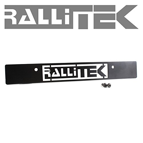 RalliTEK License Plate Delete - All Impreza 06-14 / Legacy GT 05-09 / Forester XT 14-16 / Outback XT 05-09