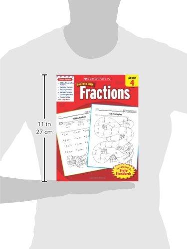 Amazon.com: Scholastic Success with Fractions, Grade 4 ...
