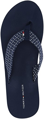 Tommy Hilfiger Women's Ceaweed Flip-Flop Navy Packed Anchors rzX1od