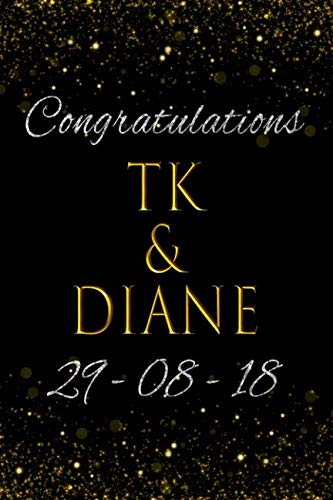 Congratulations TK and Diane