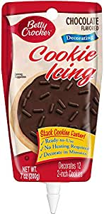 Betty Crocker Milk Chocolate Cookie Icing, 7-ounces (Pack of6)