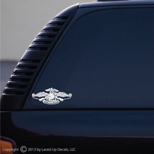 Fleet Marine Force Insignia Vinyl Decal Small