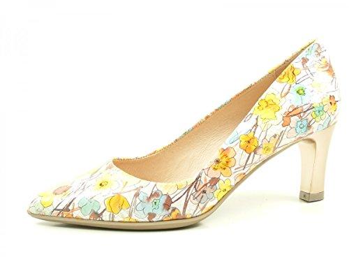 Hispanitas Honey HV74348 Zapatos de tacón de cuero para mujer Gelb