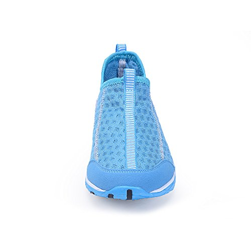 Lightweight Shoes Shoes Sport Beach Shoes WateLves Water Athletic Women's blue Shoes Walking Quick Mesh Drying Slip Pool On Aqua E 7zBq7P