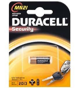 ee33e3805 Pila ALCALINA LR 23 A (MN21) 12 V Duracell: Amazon.es: Electrónica