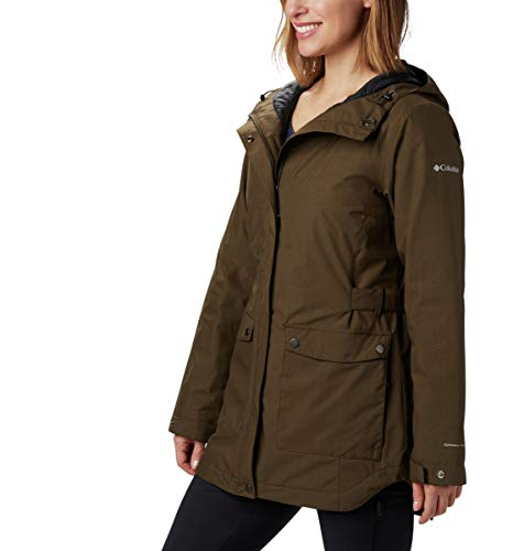 Columbia Women's Here and There Insulated Trench Jacket, Waterproof & Breathable