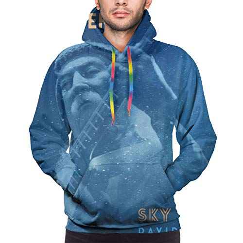 Yuliang David Crosby She's Got to Be Somewhere Mens Comfortable Hoodie3XL Black (Shes Got To Be Somewhere David Crosby)