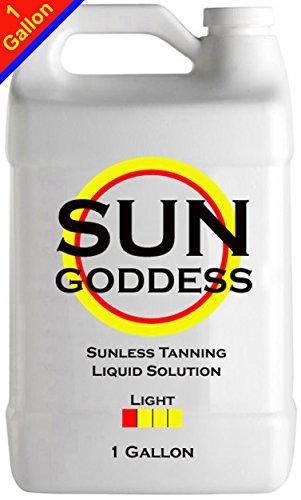 Sun Goddess - LIGHT - 1 Gallon - Sunless Self Tanning Liq...