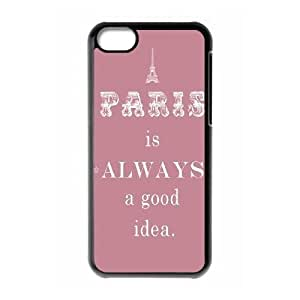Audrey Hepburn Quotes Custom Cover Case for Iphone 5C,diy phone case ygtg-782047