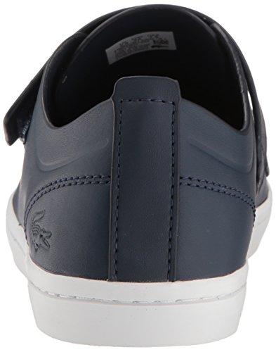 Navy Lacoste Sneaker 1 Strap White Women Caw Straightset 118 qUTf0