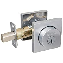 Kwikset 158SQT-26DS Keyed Entry Halifax Single Cylinder Deadbolt with Smartkey Technology