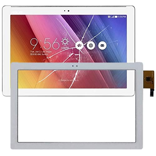 JIN for ASUS Replacement Parts Touch Panel for Asus ZenPad 10 Z300 Z300M(Black) (Color : White)
