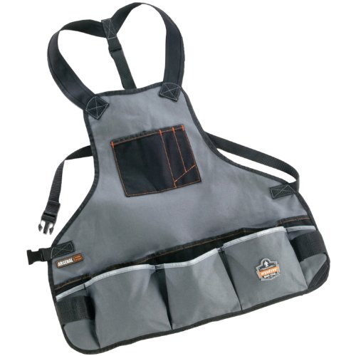 Ergodyne Arsenal 5700 Heavy Duty Canvas Tool Apron w/ 16 ...