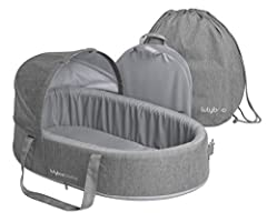 Chic and sleek, the ModCot brings convenience, portability, comfort and style to your family. With padded handles and a sturdy base, you can carry your baby easily from one adventure to the next, without disturbing any sweet dreams.